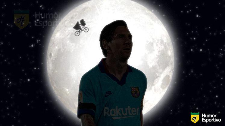 Vindo de outro planeta, Lionel Messi é digno de um Oscar com