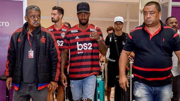 Vindo do futebol italiano, Gerson chegou ao Rio de Janeiro para assinar com o Flamengo em julho de 2019