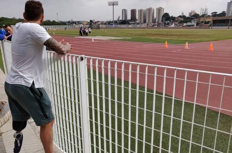 Vinicius planeja ajuda a outros amputados no futuro