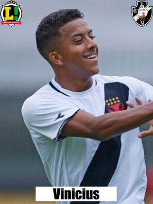 Vinícius - 6,0 - Em pouco tempo, deu trabalho à defesa do Palmeiras e criou boa chance de gol.