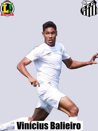 Vinícius Balieiro – 6,0 – Foi uma boa opção no ataque e acabou premiado com um belo gol, seu primeiro como atleta profissional. Mas foi um dos que falhou na marcação do gol do Deportivo Lara.