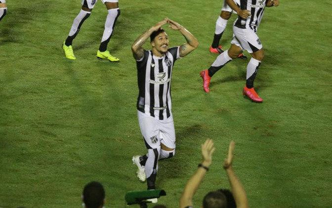 VINÍCIUS- Ceará (CAPITÃO) (C$ 9,93) Em excelente momento individual, deu o passe pra dois gols do Vozão na vitória contra o Brusque na Copa Do Brasil, além de ter novamente marcado seu gol contra o RB Bragantino. Deve ser unanimidade diante do Goiás em casa.