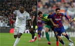 Vinicius jr, Messi, Real madrid, barcelona