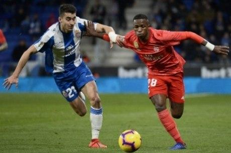 Vinicius atua pela primeira vez pelo Real Madrid
