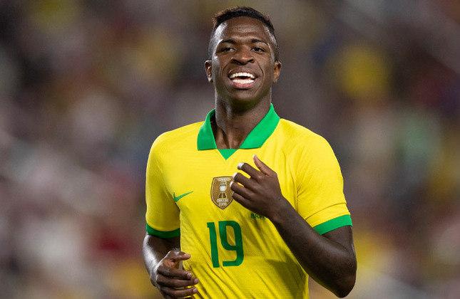 VINICIUS JÚNIOR - Fez parte do grupo que disputou a Copa América. Pode receber nova oportunidade para, enfim, ter mais chance de mostrar serviço.
