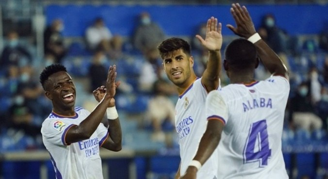 Brasileiro Vinícius Júnior marca em vitória do Real Madrid pelo Espanhol
