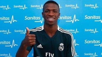 Com Vinícius Júnior e novo goleiro, Real retoma trabalhos em Madri (Instagram)