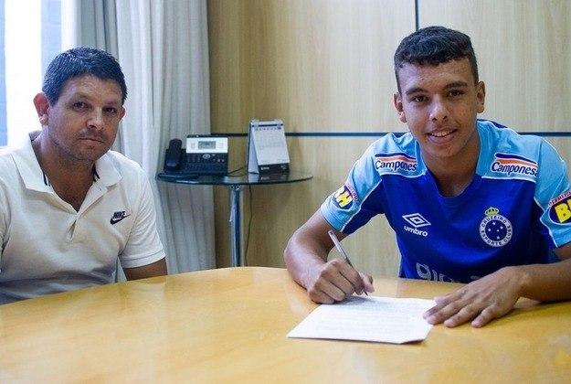 Vinicius Popó: atacante novamente vinculado ao Cruzeiro (estava no Sport)