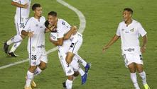 Jovens decidem, e Santos abre vantagem na pré-Libertadores