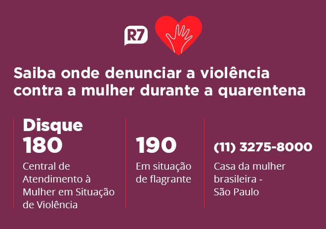 Canais para denunciar a violência contra a mulher