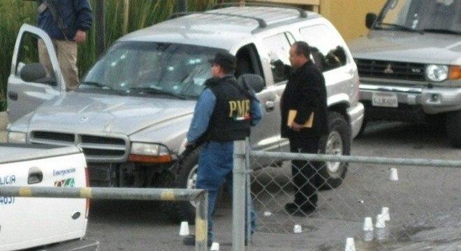 Cenas de crimes são cada vez mais comuns nas ruas de Tijuana, no México