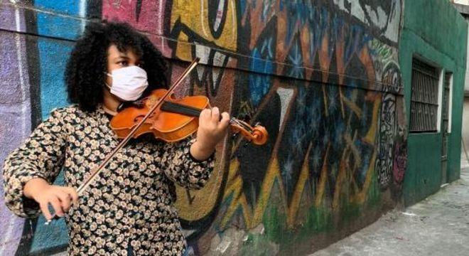 A promissora carreira da violista ganhou rumo em direção à Europa