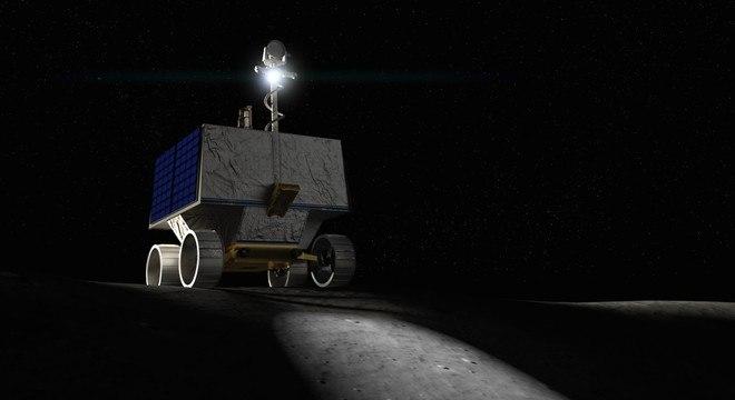 Serão 100 dias de expedição em busca de recursos no satélite