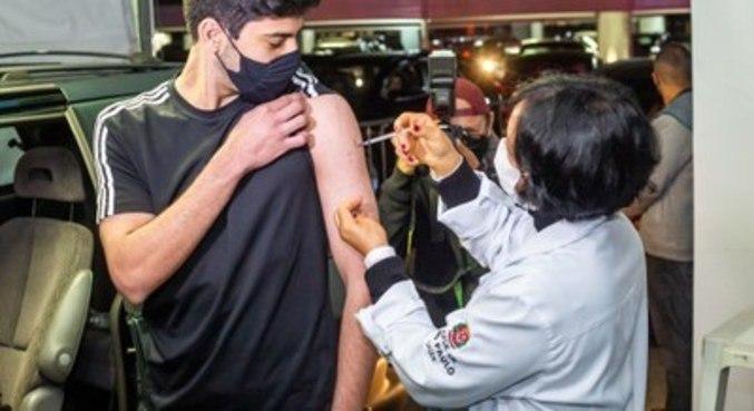Virada da Vacina aplicou mais de 17 mil doses na cidade de SP, no mês passado