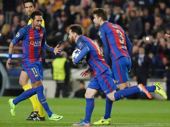 No entanto, o PSG também já protagonizou outra virada histórica, mas do outro lado. Depois de ter vencido o Barcelona de Messi e Neymar por 4 a 0 em 2017, acabou levando a virada por 6 a 1 no Camp Nou (com dois gols e uma assistência do brasileiro) e deu adeus a uma vaga nas quartas da competição
