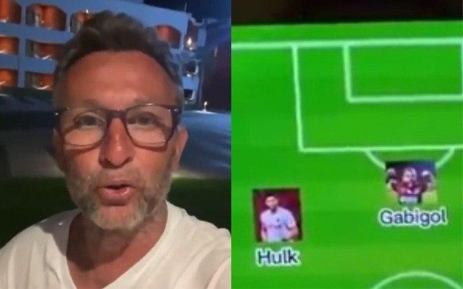 Viralizou um vídeo na internet com o apresentador Neto, da Band, escalando sua Seleção Brasileira ideal. No trecho recortado na web, ele defende a colocação do atacante Gabigol como titular: