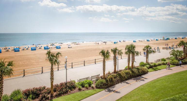 Praia de Virginia Beach, Virginia, Estados Unidos