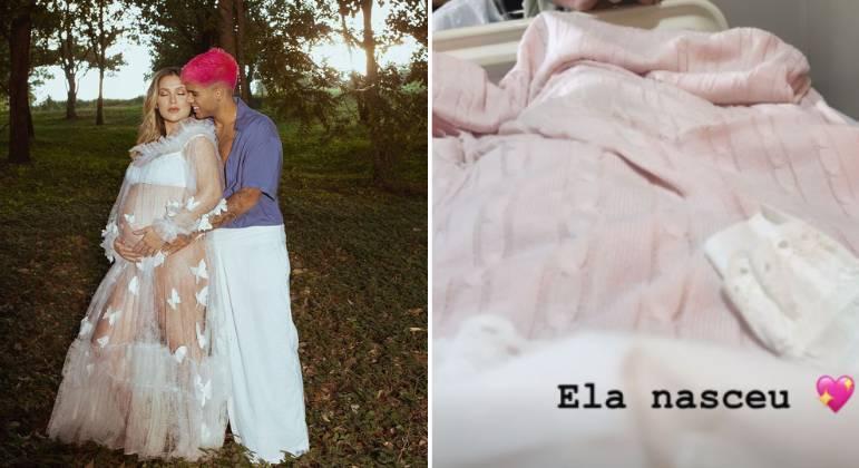 Virginia e Zé Felipe anunciam nascimento da primeira filha, Maria Alice