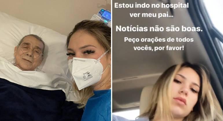 Pai de Virginia Fonseca tem piora de saúde: 'Notícias não são boas'