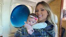 Virginia Fonseca revela o motivo de ter parado de amamentar a filha