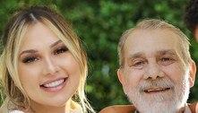 Virginia Fonseca herda anel que pertencia ao pai: 'Tento ser forte'
