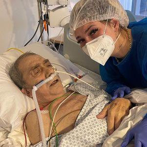 Pai está com pneumonia aguda