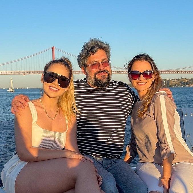 Virginia, Pedro e Michelle se reencontraram após mais de uma década