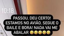 Virginia Fonseca passa perrengue em aeroporto e quase perde voo