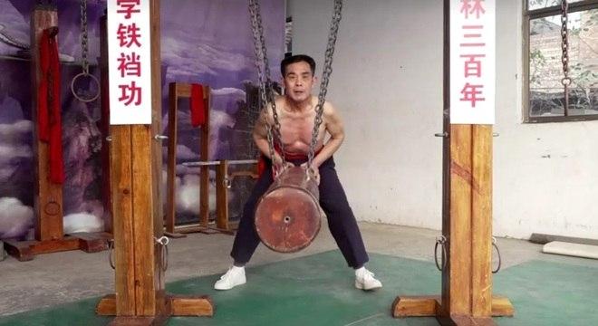 Wang começou a promove ativamente a técnica da 'virilha de ferro'