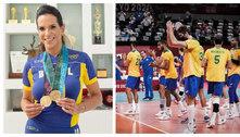 Após derrota do vôlei, Virna lembra 2004: 'Bola que não cai'