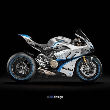 Visão geral da pintura da Williams na MotoGP