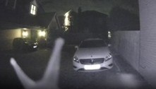 Moradora descobre que visitante noturno era lesma na campainha