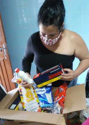 Fábia gasta em média R$ 250 com a preparação do jumbo