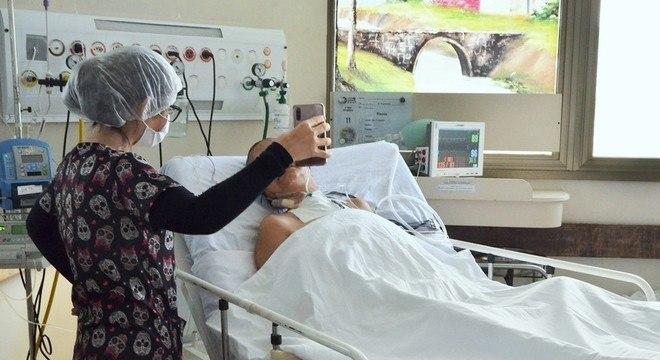 Visitas virtuais são consideradas benéficas para a recuperação de pacientes