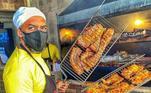 Vislumbre Arte & SaborLocalizado na zona leste de São Paulo, o Vislumbre Arte & Sabor é um restaurante familiar que prepara diversos tipos de carne assada há três anos. Mas foi durante o isolamento imposto pela pandemia que as receitas da família Tavares caíram efetivamente no gosto do povo. Isso porque o serviço de entrega alavancou o negócio