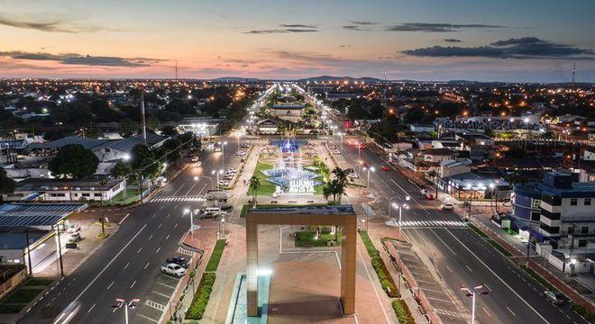 Praça das Águas e Campo Society, em Boa Vista, capital de Roraima