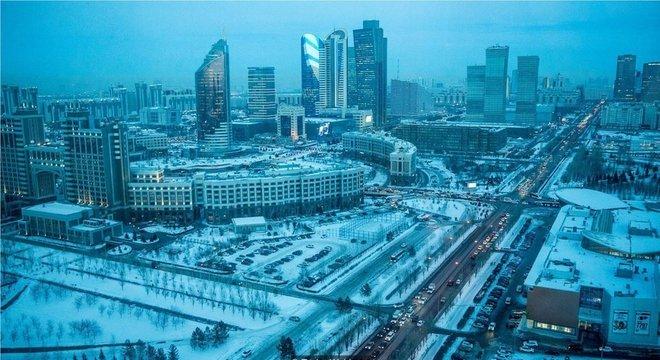 O russo é a língua escolhida em cidades do Cazaquistão como a capital, Astana