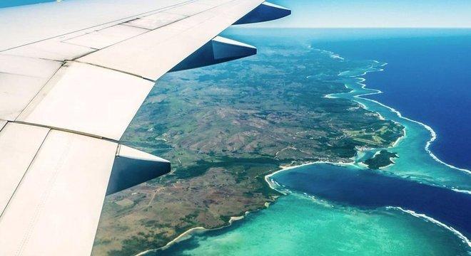 A nação insular do Pacífico, Fiji, marcou o início da aviação do século 21