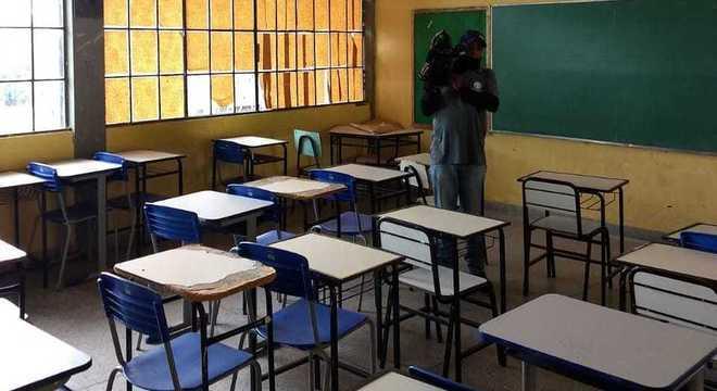 MP vistoria escolas e avalia estrutura de cada uma delas