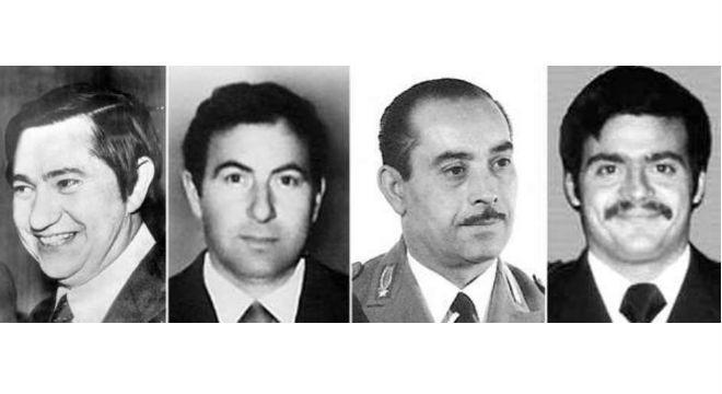 Pierluigi Torregiani, Lino Sabbadin, Antonio Santoro e Andrea Campagna