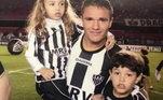 O meia-atacante era filho do ex-atacante Marinho, se destacou no Atletico-MG em 2006