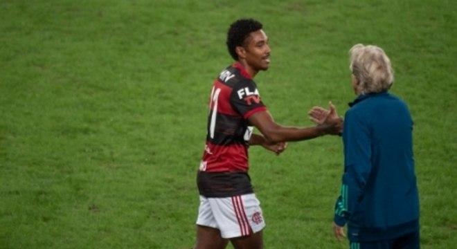 Vitinho e Jorge Jesus - Flamengo