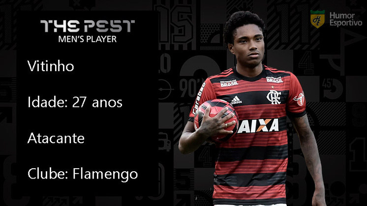 Vitinho está no top 3 dos jogadores mais questionados em 2020. O atacante não consegue conquistar a confiança da torcida rubro-negra e carrega o fardo por diversas derrotas do Flamengo.