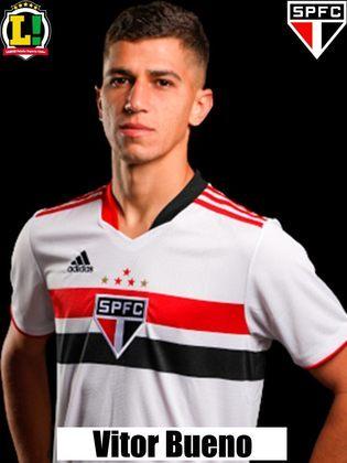 Vitor Bueno - Segue no elenco e tem sido reserva