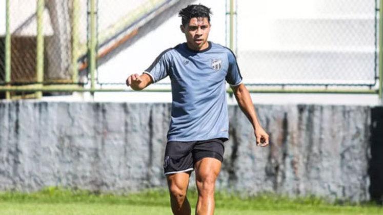 Vitor Jacaré: centroavante do Ceará, 21 anos, contrato até dezembro de 2022. Fez partidas e tem um gol marcado no Campeonato Brasileiro