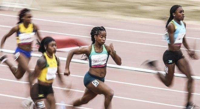 Vitória Rosa garantiu o bronze nos 100 metros rasos