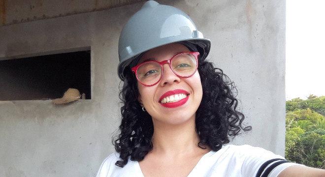 A estudante de arquitetura Vitória Maria Barreto Rosendo, de 23 anos