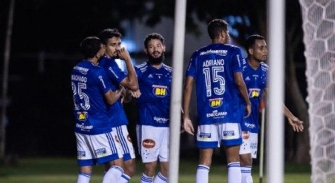Vitória x Cruzeiro - Comemoração