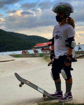 Dentre os tipos de skates que hoje existem, Vittorio prefere o street