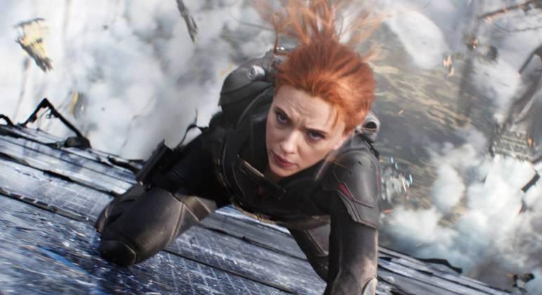 Scarlett Johansson interpreta novamente a personagem Viúva Negra nos cinemas